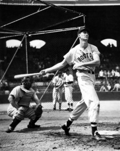 Ted Williams: finished two ten-thousandths of a point — .34291 to .34276 — behind George Kell for the 1949 AL batting crown.
