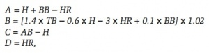 Yates: Basic Runs equation