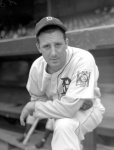 Made his Major League debut in 1930, but did not crack Detroit's regular lineup until May of 1933.