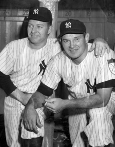 "Eddie Lopat and Allie Reynolds: Two of the Yankees' ""Big Three""."