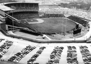 Milwaukee County Stadium: IIn its third season when it hosted the inaugural Global World Series in 1955.