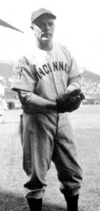 Johnny Vander Meer: pitched double no-hitter for Cincinnati Reds in 1938.