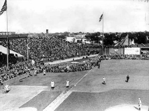 Baseball Game at Lexington Park, 1916