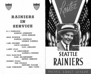 Seattle Rainiers program