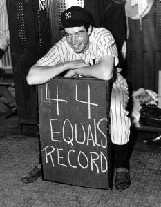 Joe DiMaggio: His 56-game hitting streak in 1941 was an unusual occurrence, but was it only a manifestation of pure chance?