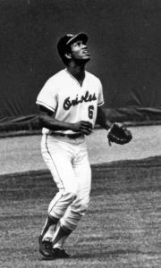 Paul Blair: First-year draftee helped the Baltimore Orioles win the 1966 World championship.