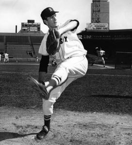 Jim Lonborg: In 1965, the Red Sox promoted him from Triple-A to Boston to protect him from the draft. A year earlier they did the same with Tony Conigliaro. These two players benefited from the early look they got and were key players in 1967, when Lonborg won 22 games and had a career year.