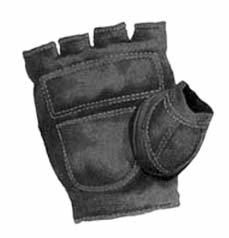 Fingerless glove, 1880s