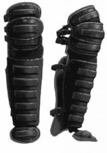 Modern molded-plastic shin guards