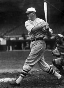 "Rogers Hornsby: A contemporary of Ruth, he remarked that ""starting with him, batters have been thinking in terms of how far they could hit the ball, not how often."""