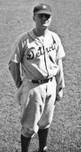 Joe Jachym: Joined the Tigers in 1939 as a batting-practice pitcher and wore number 16 ... because it fit.