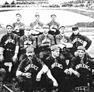Lawrence baseball team, 19th century: The first recorded game in Lawrence was shortly after the Civil War. After a complicated, protracted dispute, Lawrence was ultimately declared champion of the short-lived Eastern New England League in 1885.