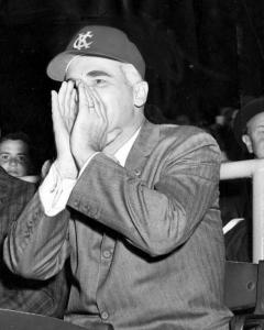 "Charlie Finley: ranked exceptionally low among club owners and presidents on measures of demonstrating respect for members of the organization, according to Steve Weingarden. He was 42 when he bought the A's. Would the character of his ownership had been better had he been more mature when he entered the ""owners' clique""?"