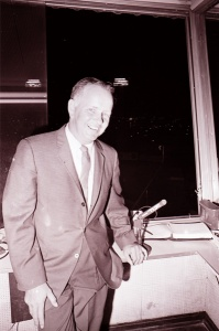 Jerry Doggett: Vin Scully's sidekick for the Dodgers' first three decades in Los Angeles.