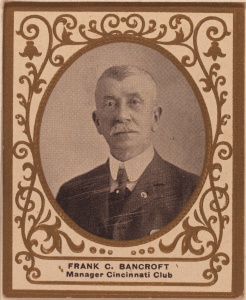 "Frank Bancroft: While managing Cleveland in 1883 he was quoted as saying Baltimore's problem may have been, ""it is said they drink occasionally."""