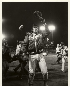 Fernando Valenzuela: He could not have been accused of having an outfielder's physique, but he was pressed into duty as one in a game in August 1982.