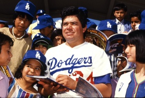 Fernando Valenzuela: A magnet for drawing Latino, especially Mexican-American, fans to Dodger Stadium.