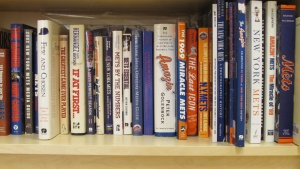 New York Mets books: A diehard fan of the Amazins, Greg Spira collected and contributed to numerous books about the team.