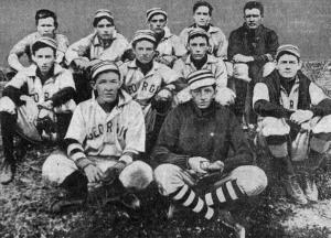 1904 University of Georgia team: Frank Anderson (front row, left) was captain and All-Southern second basemen that year.