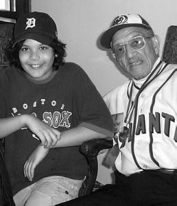 Red Moore: Still devotes much of his time to keeping the Negro Leagues alive for young fans.