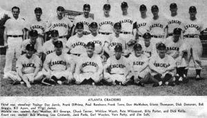 1954 Atlanta Crackers