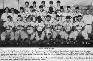 1954 Houston Buffaloes