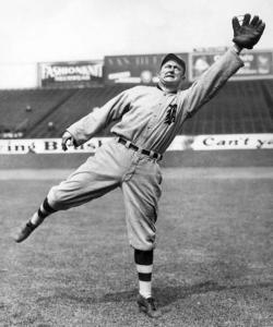 Ty Cobb: showed some acting talent, but one movie was enough to convince him that his future was on the diamond.