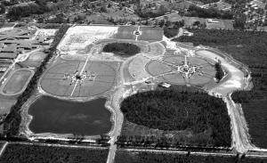 "Trembling Earth Recreational Complex: Hub of youth sports in today's Waycross. Note that the layout retains elements of Hugh Wise's original design, a fitting reminder of a time and place mostly forgotten. Trivia alert: The word for ""trembling earth""in the language of the local Creek people is Okefenokee."