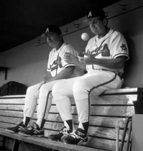 Bobby Cox and Leo Mazzone