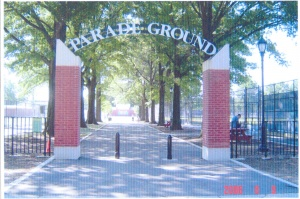 Brooklyn's Parade Ground: Today, the archway still welcomes ballplayers and their families to five diamonds, as well as tennis courts and soccer fields.