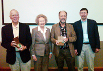 Seymour Medal Conference: Lyle Spatz, Dorothy Seymour Mills, Steve Steinberg, Marc Appleman