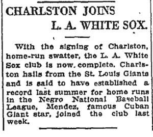 Los Angeles Times; November 26, 1921