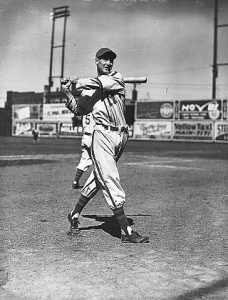 Ted Williams at Nicollet Park