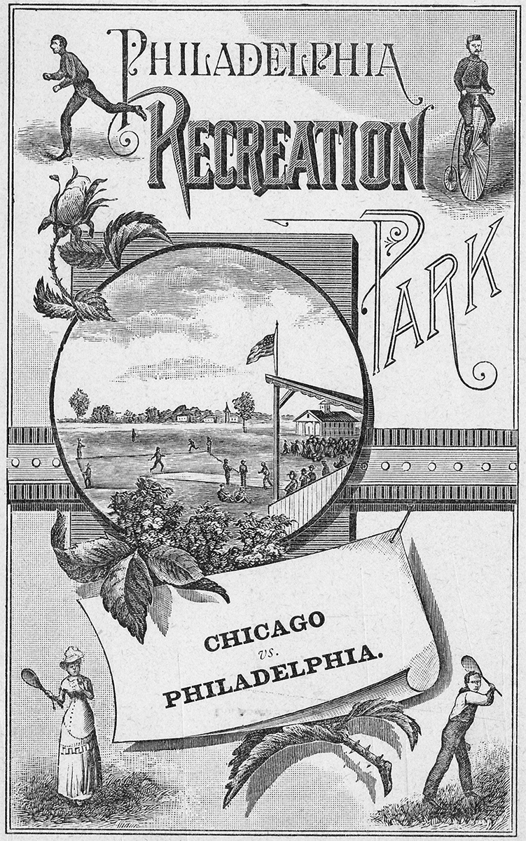 1882 Phillies scorecard