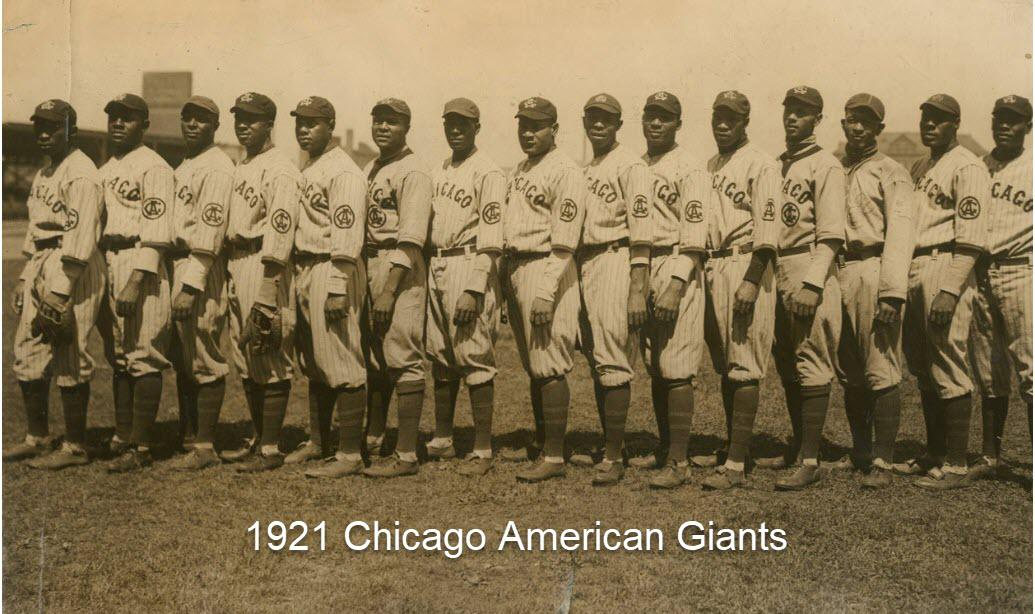 1921 Chicago American Giants