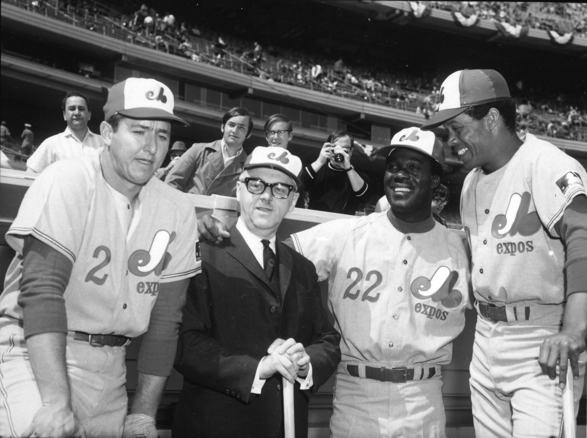 1969 Montreal Expos opener