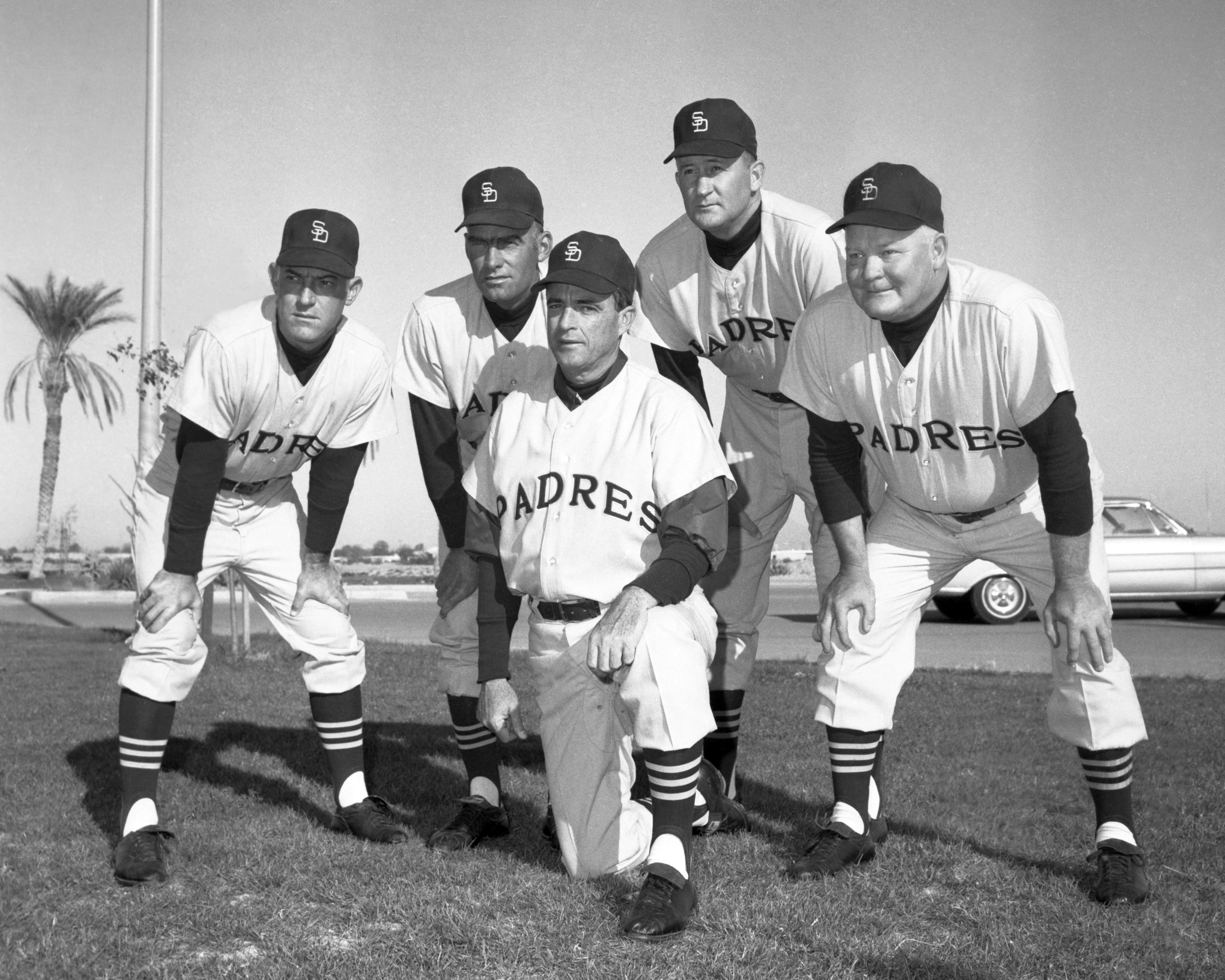 1969 Padres coaching staff