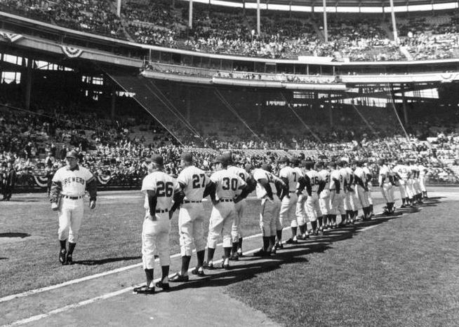 April 7, 1970: Milwaukee Brewers make their debut at County ...