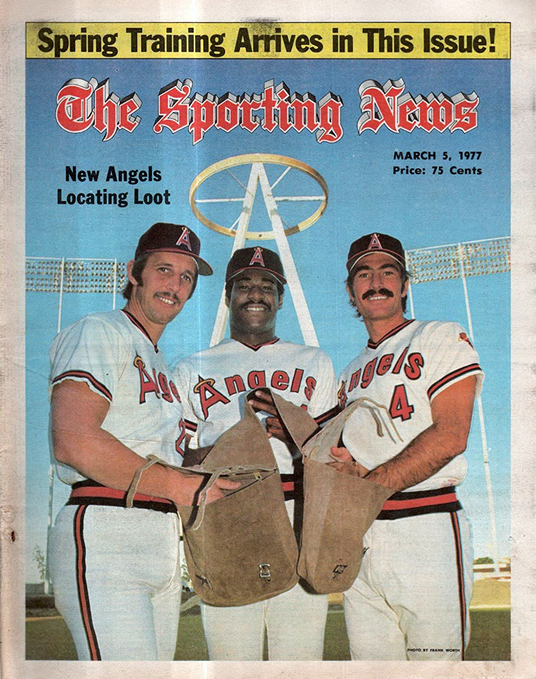 1977 Angels / The Sporting News