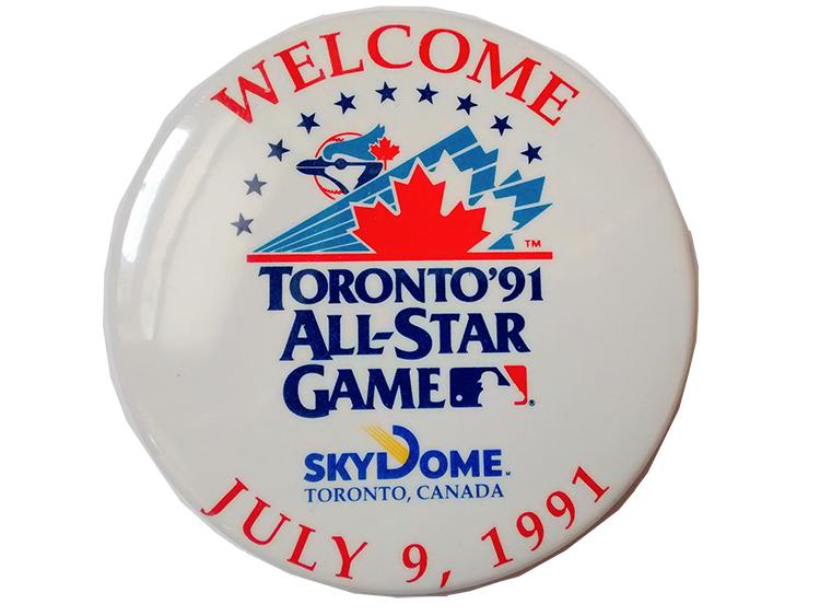 1991 All-Star Game button