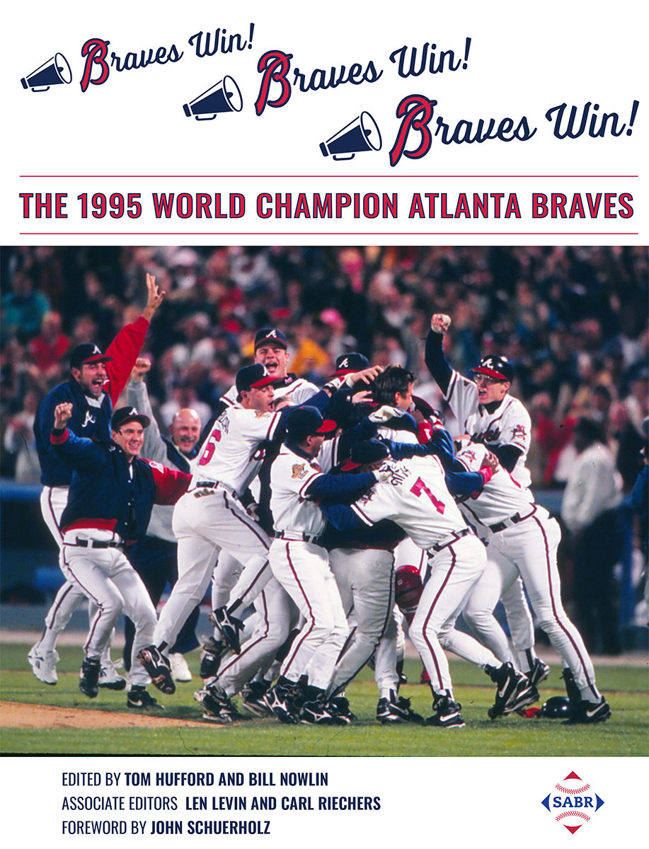 1995 Atlanta Braves book cover