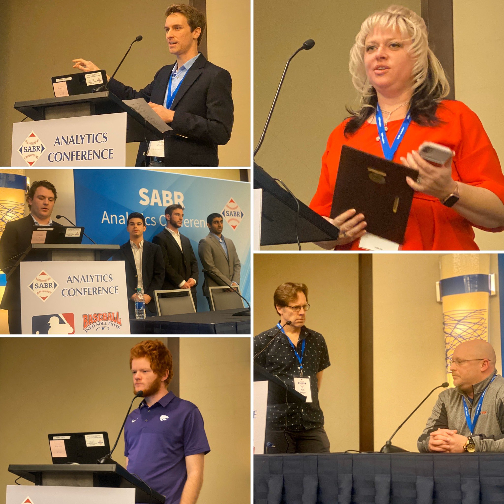 2020 SABR Analytics photo collage - Saturday, March 14