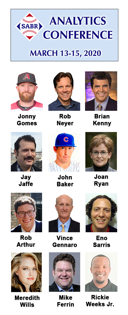 2020 SABR Analytics Conference speakers