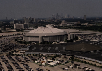A packed house at the Astrodome