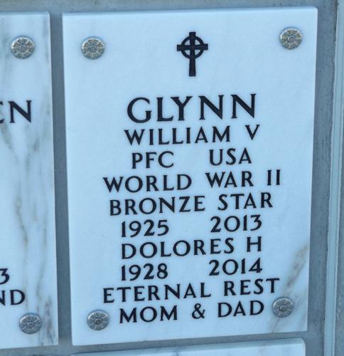 Bill Glynn grave marker