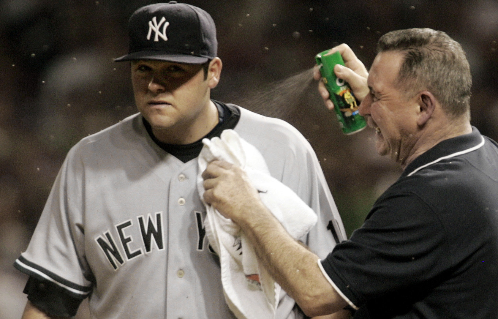 October 5 2007 Midges Invade Jacobs Field Attack Yankees Joba Chamberlain In Alds Society For American Baseball Research
