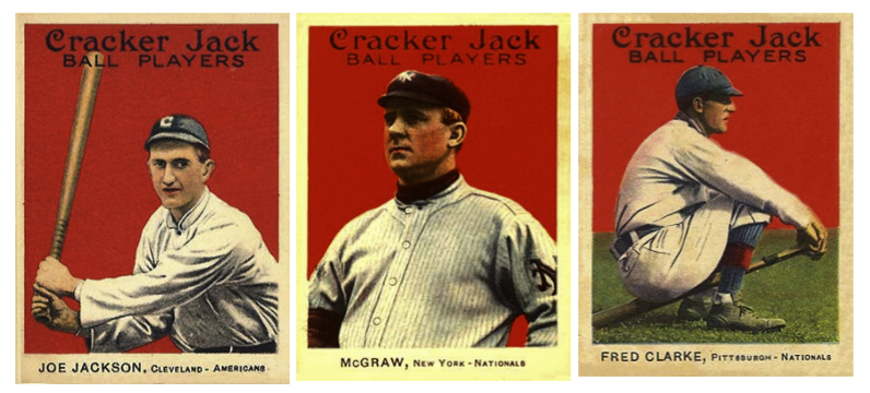 1914 15 Cracker Jack Baseball Cards Society For American Baseball