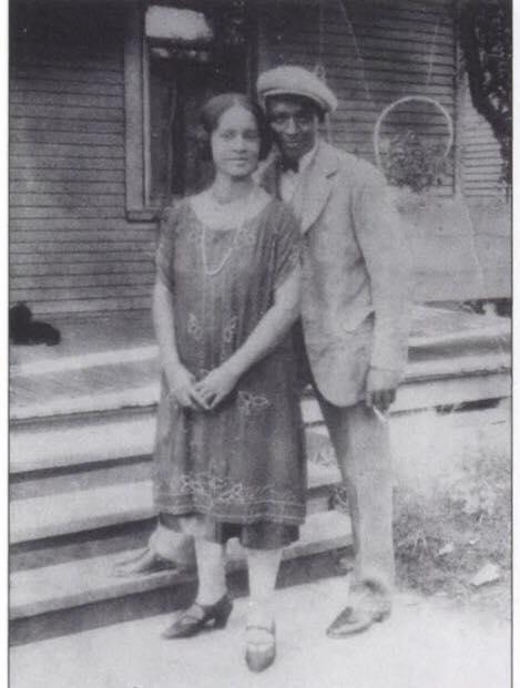 Saul Davis and Juanita Davis Beadle