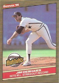 Jim Deshaies (TRADING CARD DB)