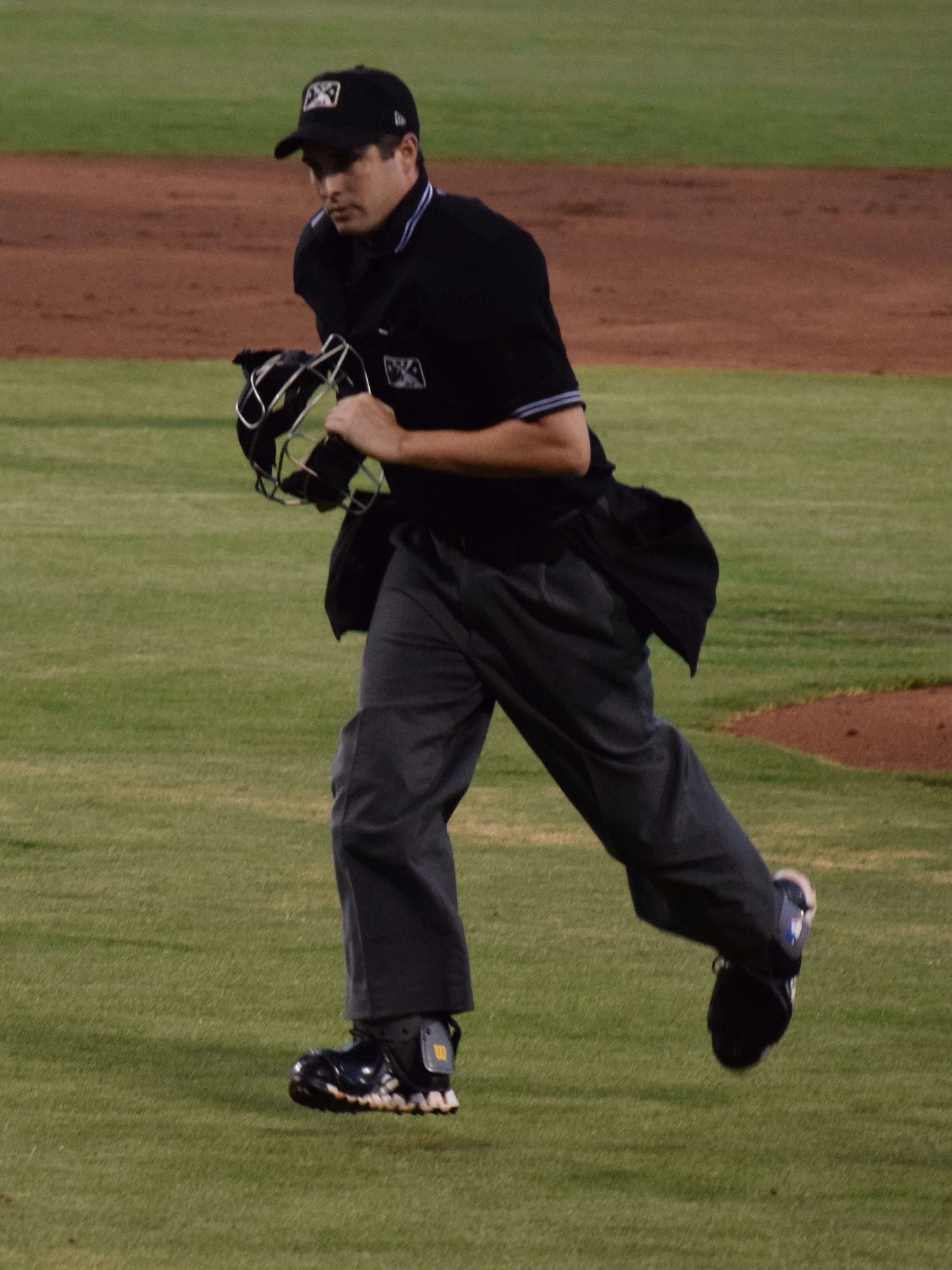 Lorenz Evans, Arizona League umpire